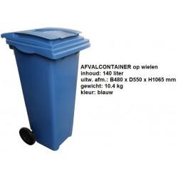 Kliko 140 liter blauw