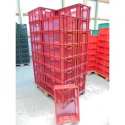 32 Broodkratten 60x40x24 rood