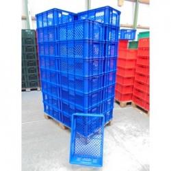 32 Broodkratten 60x40x24 blauw