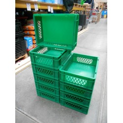 40x30x12 groen perfo