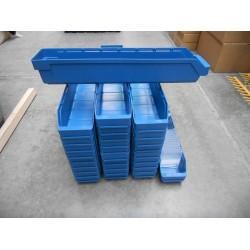 59x12x9 blauw met schotjes
