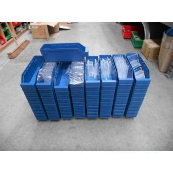30x9x9 blauw met schotjes