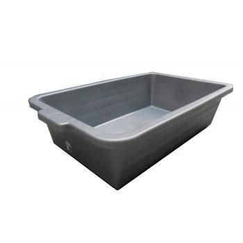 lekbak 40 L grijs