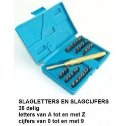 Slagcijfers en letters