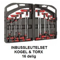 TORX INBUS Set 16 delig