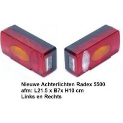Achterlichten Radex 5500 L+R