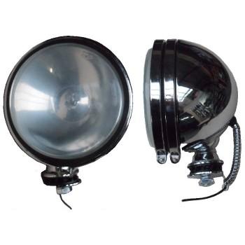 Trekkerlamp chroom