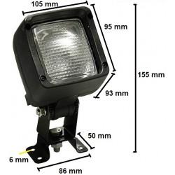Werklamp enkel