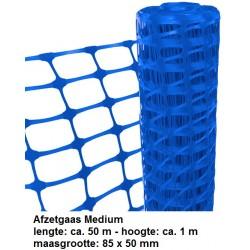 Afzetgaas Blauw Medium