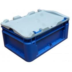 Silverline 30x20x13 blauw
