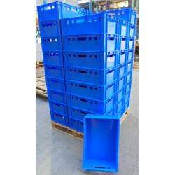 Pallet 44 blauwe Bakken