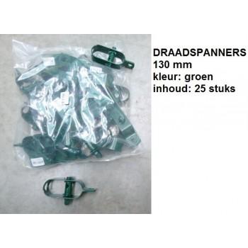 25 Draadspanners groen
