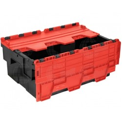 Distributiebak 60x40x25 rood