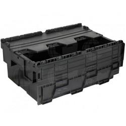 Distributiebak 60x40x25 zwart