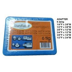 ADAPTERS 6 delig
