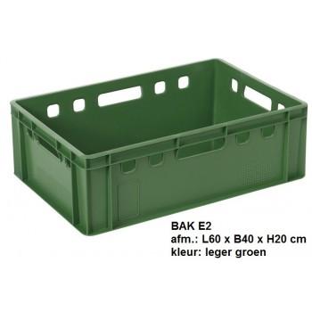 Bakken E2 groen