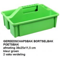 GEREEDSCHAPSBAK Groen