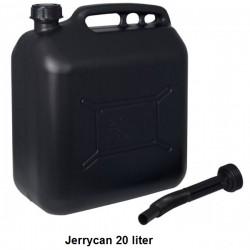 Jerrycan 20L Zwart