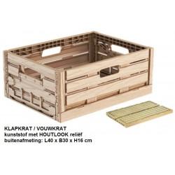 klapkrat houtlook 40x30
