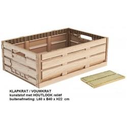 klapkrat houtlook 60x40