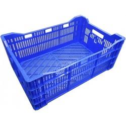 Kratten 60x40x24cm blauw