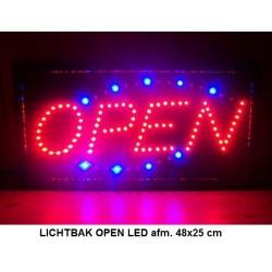LED bord open