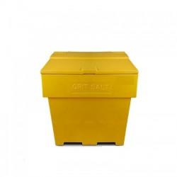 Zoutkist 170 liter geel