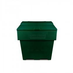 Zoutkist 170 liter groen