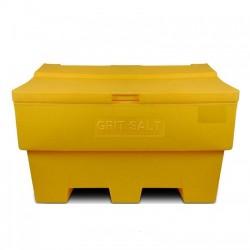 Zoutkist 285 liter geel