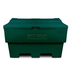 Zoutkist 285 liter groen