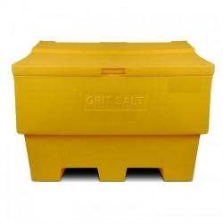Zoutkist 350 liter geel