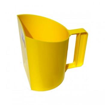 Voerbeker geel