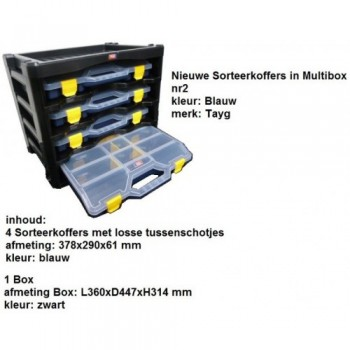 Multibox 02 middel blauw