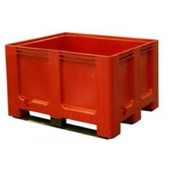 Palletbox rood