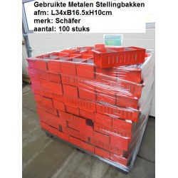 100 Stellingbak 34x16.5x10 Rood