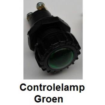 CONTROLELAMP Groen