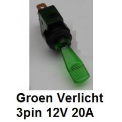 WIPSCHAKELAAR Groen
