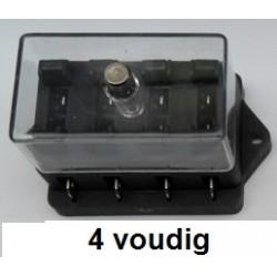 STEEKZEKERINGHOUDER 4voudig