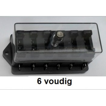 STEEKZEKERINGHOUDER 6voudig
