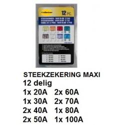 STEEKZEKERINGEN Maxi 12 delig