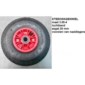 Steekwagenwiel prof