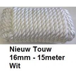 TOUW 16mm 15m Wit
