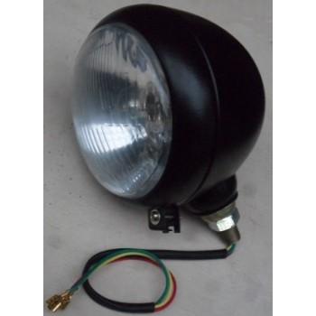 Trekkerlamp zwart