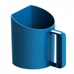Voerbeker blauw