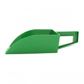 Voerschep groen