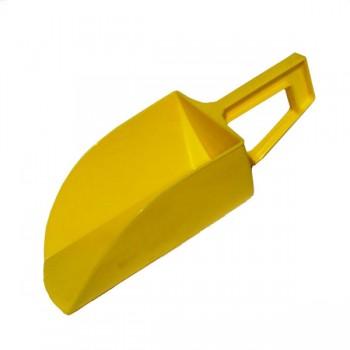 Voerschep geel