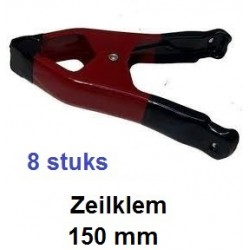 ZEILKLEMMEN 150 mm 8 delig