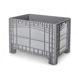 Palletbox grijs 1200x800x800