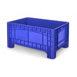 Palletbox blauw 1200x800x580