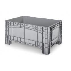 Palletbox grijs 1200x800x580